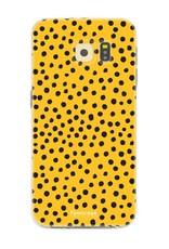 Samsung Samsung Galaxy S6 - POLKA COLLECTION / Ocher Yellow