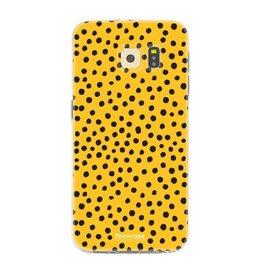 FOONCASE Samsung Galaxy S6 - POLKA COLLECTION / Ocher Yellow