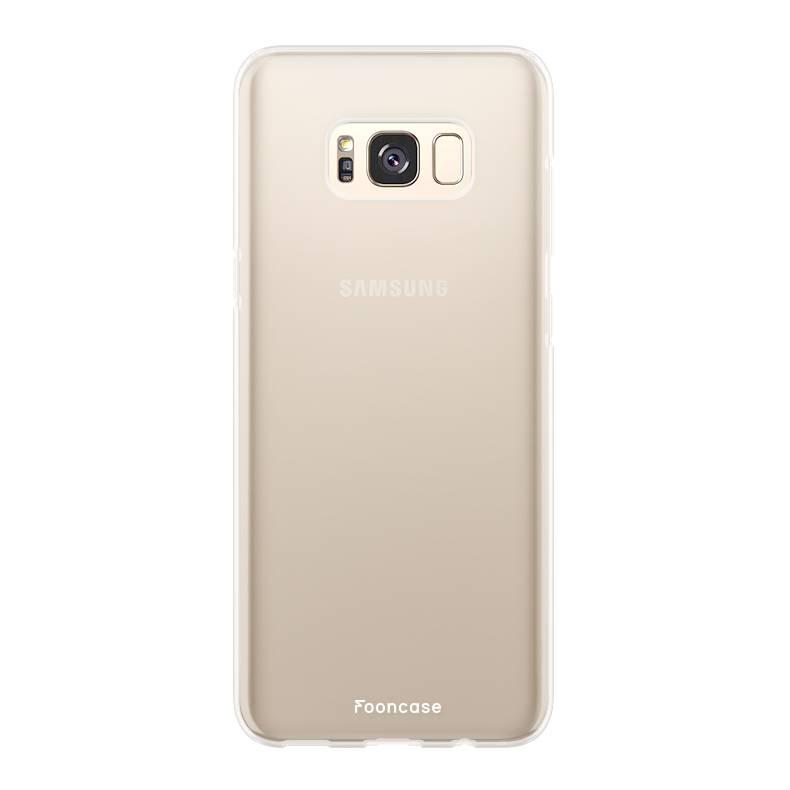Samsung Samsung Galaxy S8 Handyhülle - Transparant