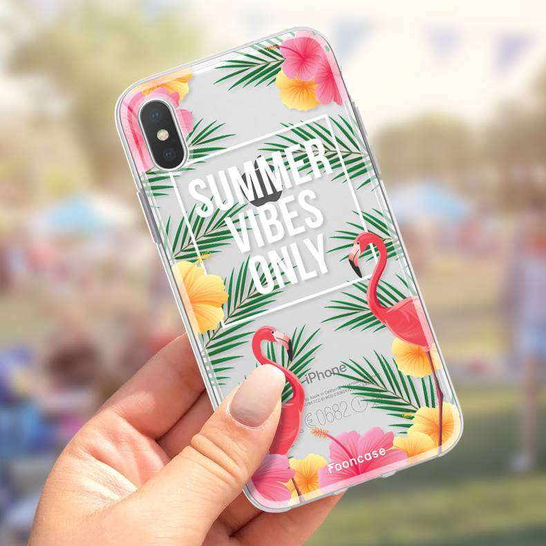 FOONCASE Iphone X Handyhülle - Summer Vibes Only