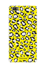 FOONCASE Huawei P8 Lite 2016 hoesje TPU Soft Case - Back Cover- WILD COLLECTION / Luipaard / Leopard print / Geel