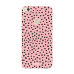 FOONCASE Huawei P8 Lite 2017 - POLKA COLLECTION / Pink