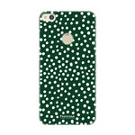 FOONCASE Huawei P8 Lite 2017 - POLKA COLLECTION / Green