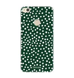FOONCASE Huawei P8 Lite 2017 - POLKA COLLECTION / Groen