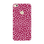 FOONCASE Huawei P8 Lite 2017 - POLKA COLLECTION / Rood