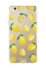 FOONCASE Huawei P8 Lite 2017 hoesje TPU Soft Case - Back Cover - Lemons / Citroen / Citroentjes