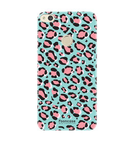 FOONCASE Huawei P8 Lite 2017- WILD COLLECTION / Blauw