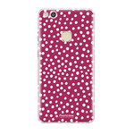 FOONCASE Huawei P10 Lite - POLKA COLLECTION / Red