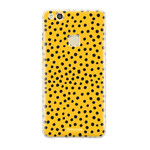 FOONCASE Huawei P10 Lite - POLKA COLLECTION / Ocher yellow