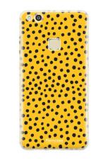 FOONCASE Huawei P10 Lite - POLKA COLLECTION / Ockergelb