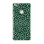 FOONCASE Huawei P10 Lite - POLKA COLLECTION / Groen
