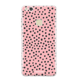 FOONCASE Huawei P10 Lite - POLKA COLLECTION / Roze