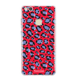 FOONCASE Huawei P10 Lite - WILD COLLECTION / Rood