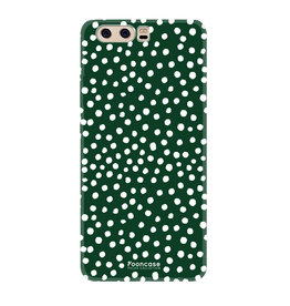 FOONCASE Huawei P10 - POLKA COLLECTION / Green