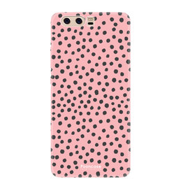 FOONCASE Huawei P10 - POLKA COLLECTION / Rosa