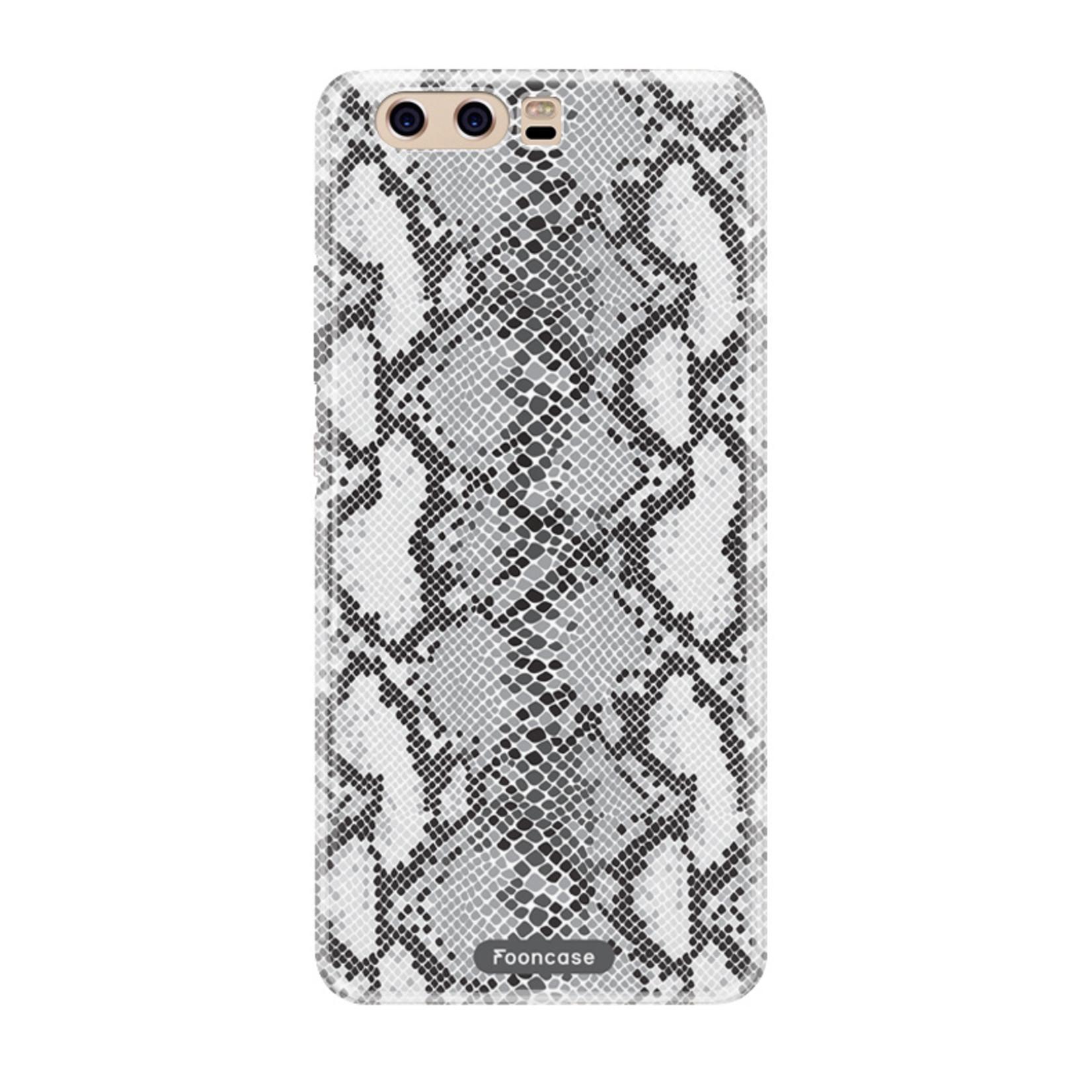 FOONCASE Huawei P10 hoesje TPU Soft Case - Back Cover - Snake it / Slangen print