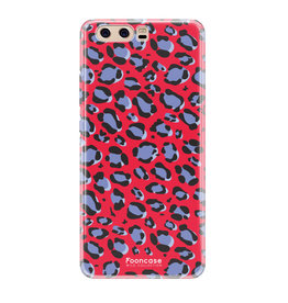 FOONCASE Huawei P10 - WILD COLLECTION / Rood