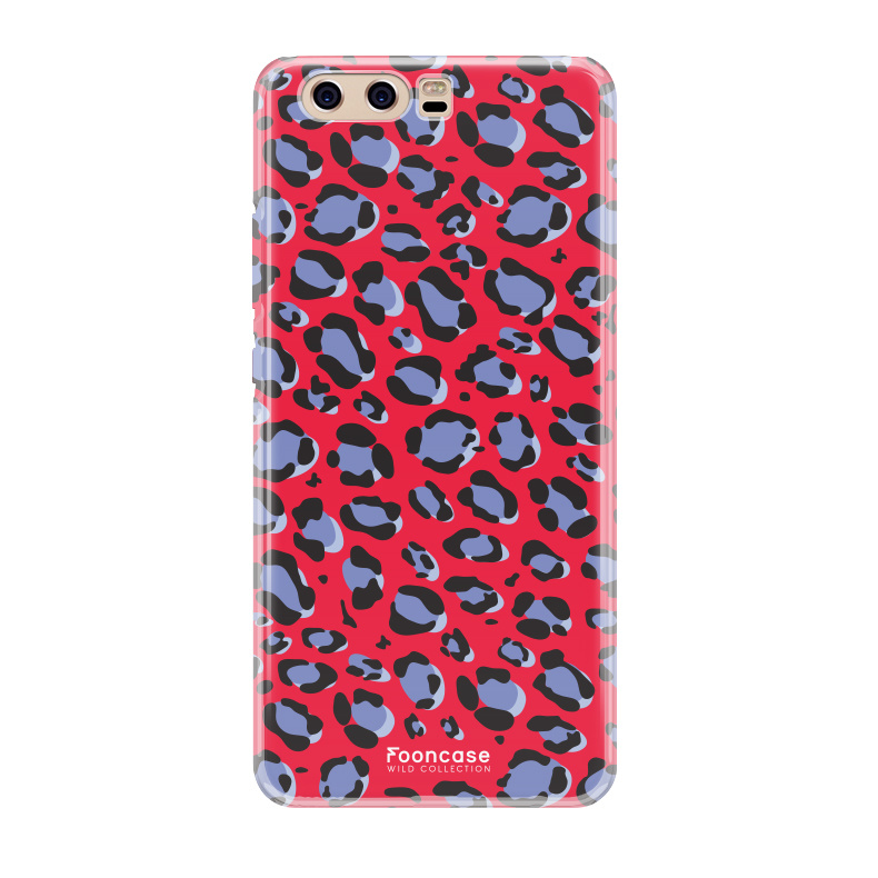 FOONCASE Huawei P10 - WILD COLLECTION / Rot