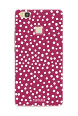 Huawei Huawei P9 Lite - POLKA COLLECTION / Rood