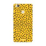 FOONCASE Huawei P9 Lite - POLKA COLLECTION / Ocher yellow