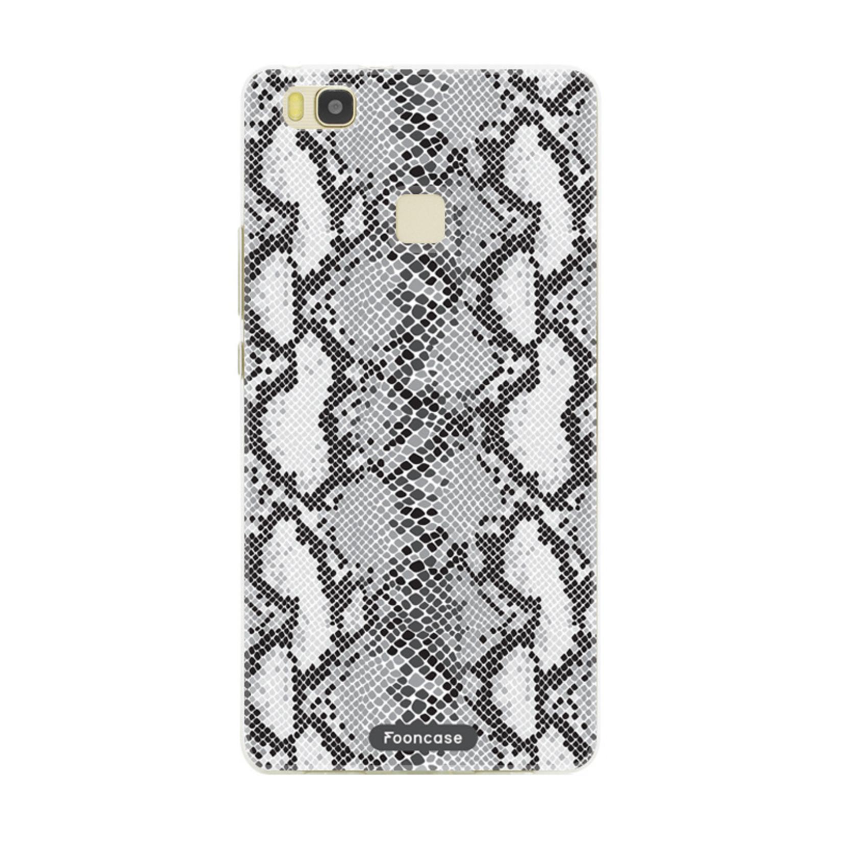 FOONCASE Huawei P9 Lite hoesje TPU Soft Case - Back Cover - Snake it / Slangen print