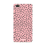 FOONCASE Huawei P8 Lite 2016 - POLKA COLLECTION / Rosa