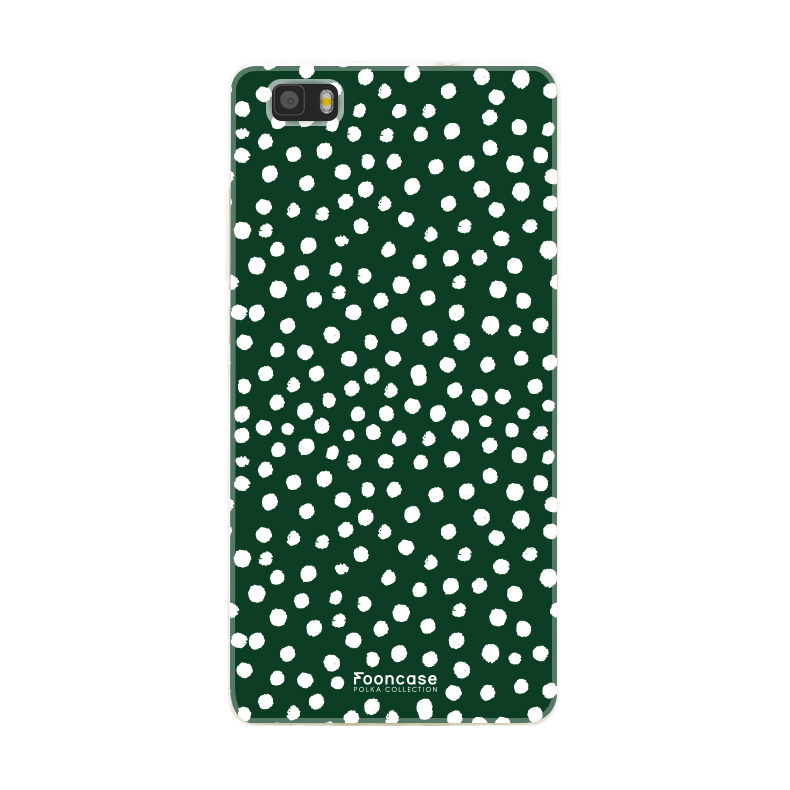 Huawei Huawei P8 Lite 2016 - POLKA COLLECTION / Groen