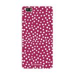FOONCASE Huawei P8 Lite 2016 - POLKA COLLECTION / Rood