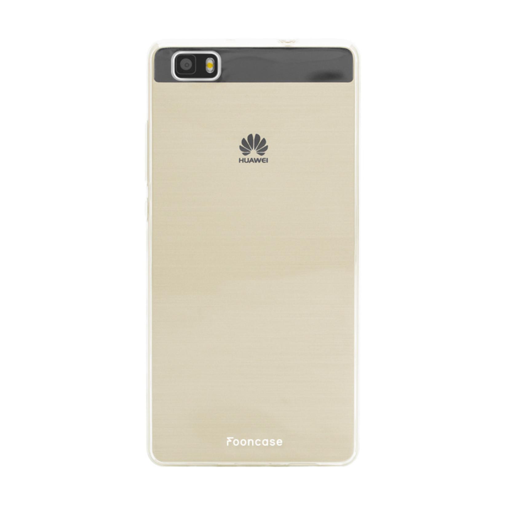 FOONCASE Huawei P8 Lite 2016 - Transparant