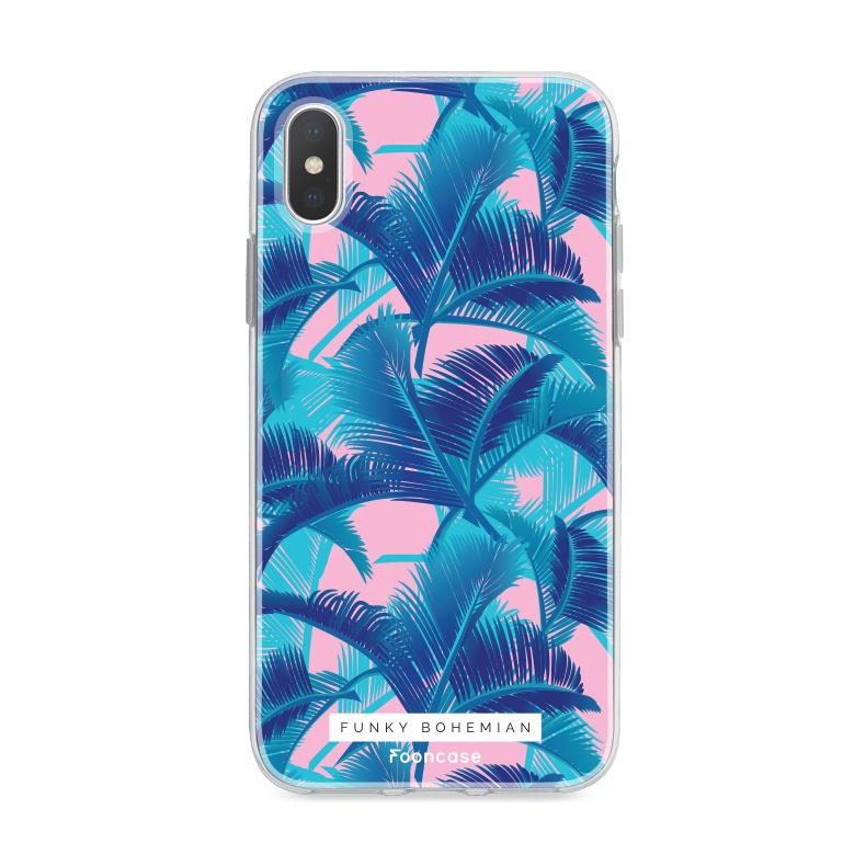 Apple Iphone X hoesje - Funky Bohemian