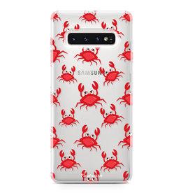 FOONCASE Samsung Galaxy S10 Plus - Krabben