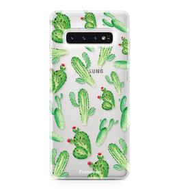 FOONCASE Samsung Galaxy S10 Plus - Kaktus