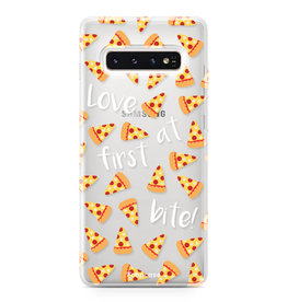 FOONCASE Samsung Galaxy S10 Plus - Pizza