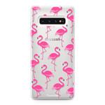 FOONCASE Samsung Galaxy S10 Plus - Flamingo