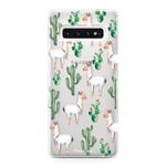 FOONCASE Samsung Galaxy S10 Plus - Lama