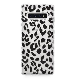 FOONCASE Samsung Galaxy S10 Plus - Luipaard print