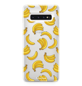 FOONCASE Samsung Galaxy S10 Plus - Bananas