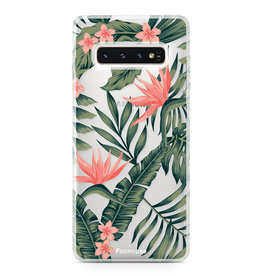 FOONCASE Samsung Galaxy S10 Plus - Tropical Desire