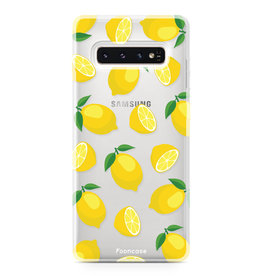 FOONCASE Samsung Galaxy S10 Plus - Lemons