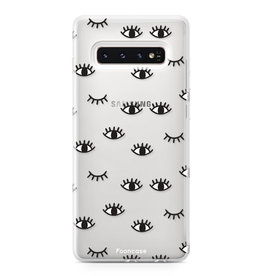 FOONCASE Samsung Galaxy S10 Plus - Eyes