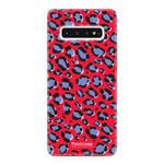 FOONCASE Samsung Galaxy S10 Plus - WILD COLLECTION / Red