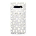 FOONCASE Samsung Galaxy S10 - Daisies