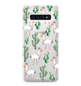 FOONCASE Samsung Galaxy S10 - Lama