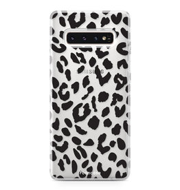 FOONCASE Samsung Galaxy S10 - Luipaard print