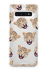 FOONCASE Samsung Galaxy S10 Handyhülle - Cheeky Leopard
