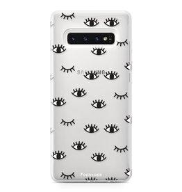 FOONCASE Samsung Galaxy S10 - Eyes