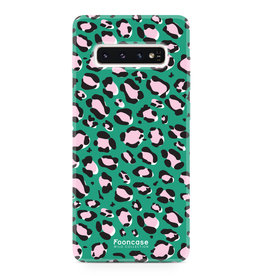 Apple Samsung Galaxy S10 - WILD COLLECTION / Groen