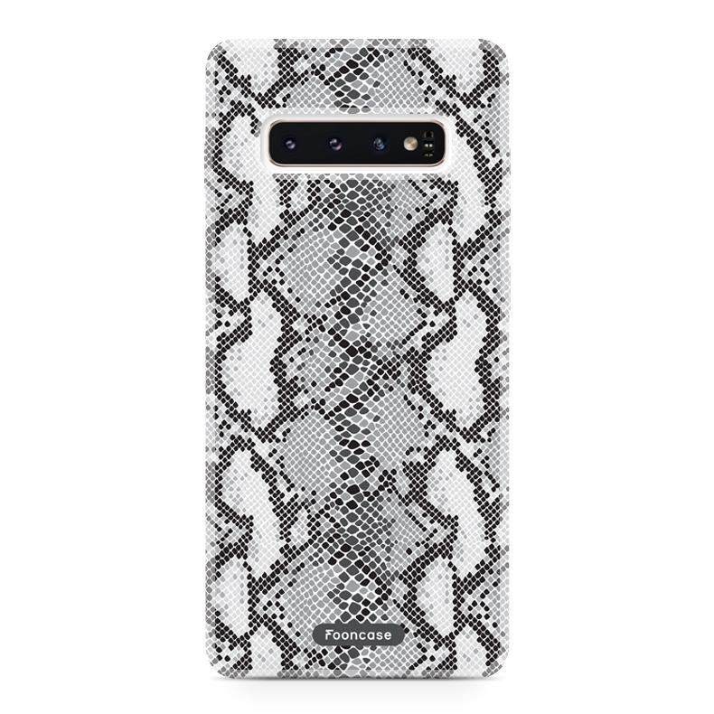 FOONCASE Samsung Galaxy S10 Handyhülle - Snake it!