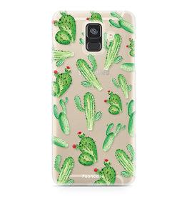 FOONCASE Samsung Galaxy A6 2018 - Kaktus