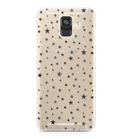 FOONCASE Samsung Galaxy A6 2018 - Sterne
